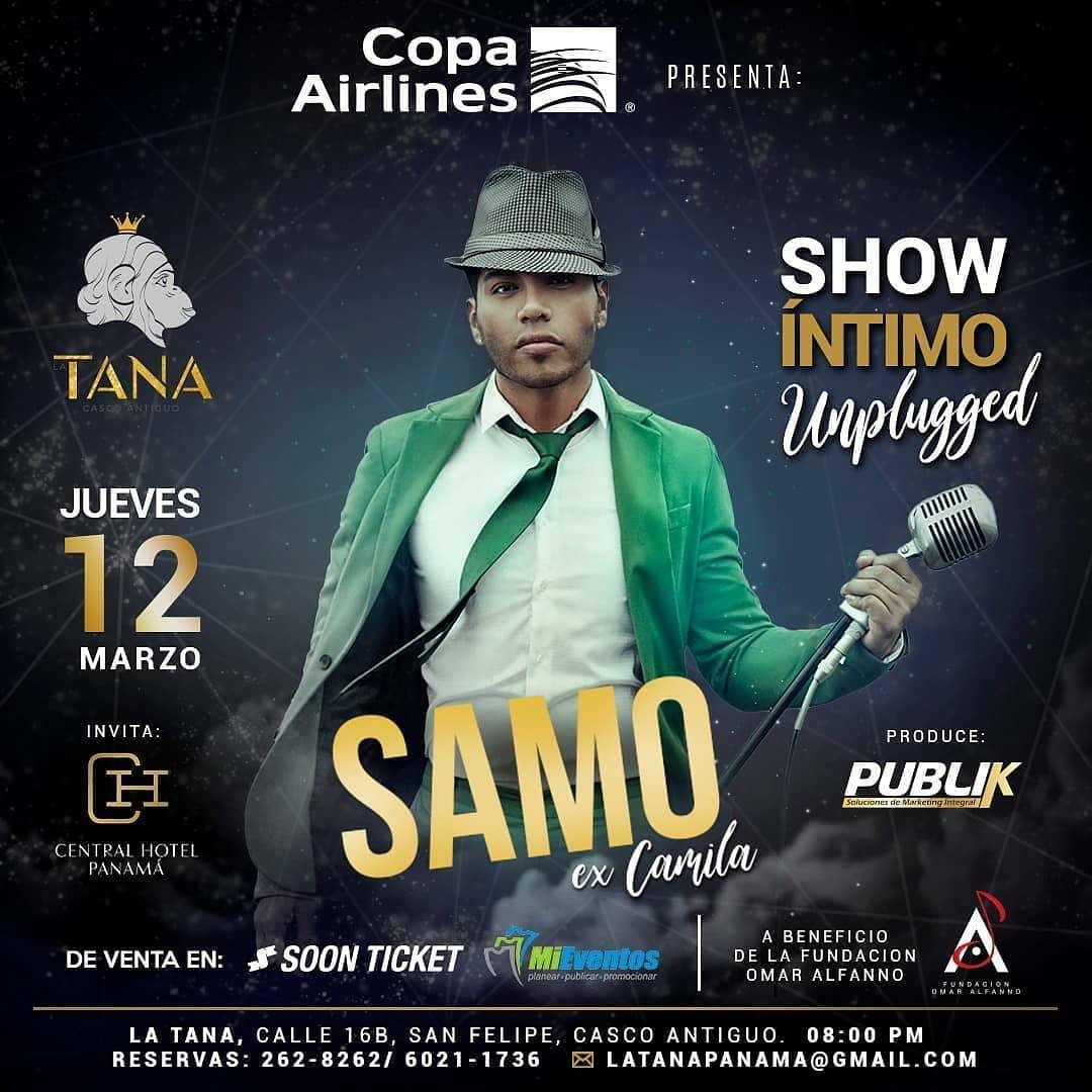 Photo of Samo en concierto en Panamá el 12 y 13 de marzo