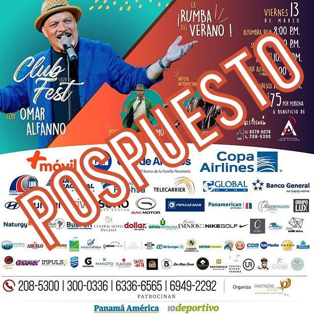 Photo of La Rumba del Verano programado para este 13 de marzo a beneficio de la Fundación Omar Alfanno ha sido pospuesta