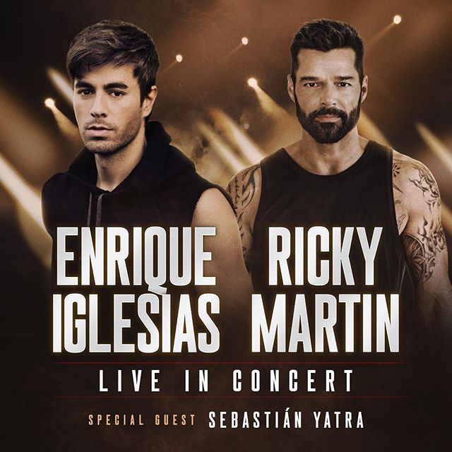 Photo of Enrique Iglesias y Ricky Martin emprenden por primera vez una gira juntos