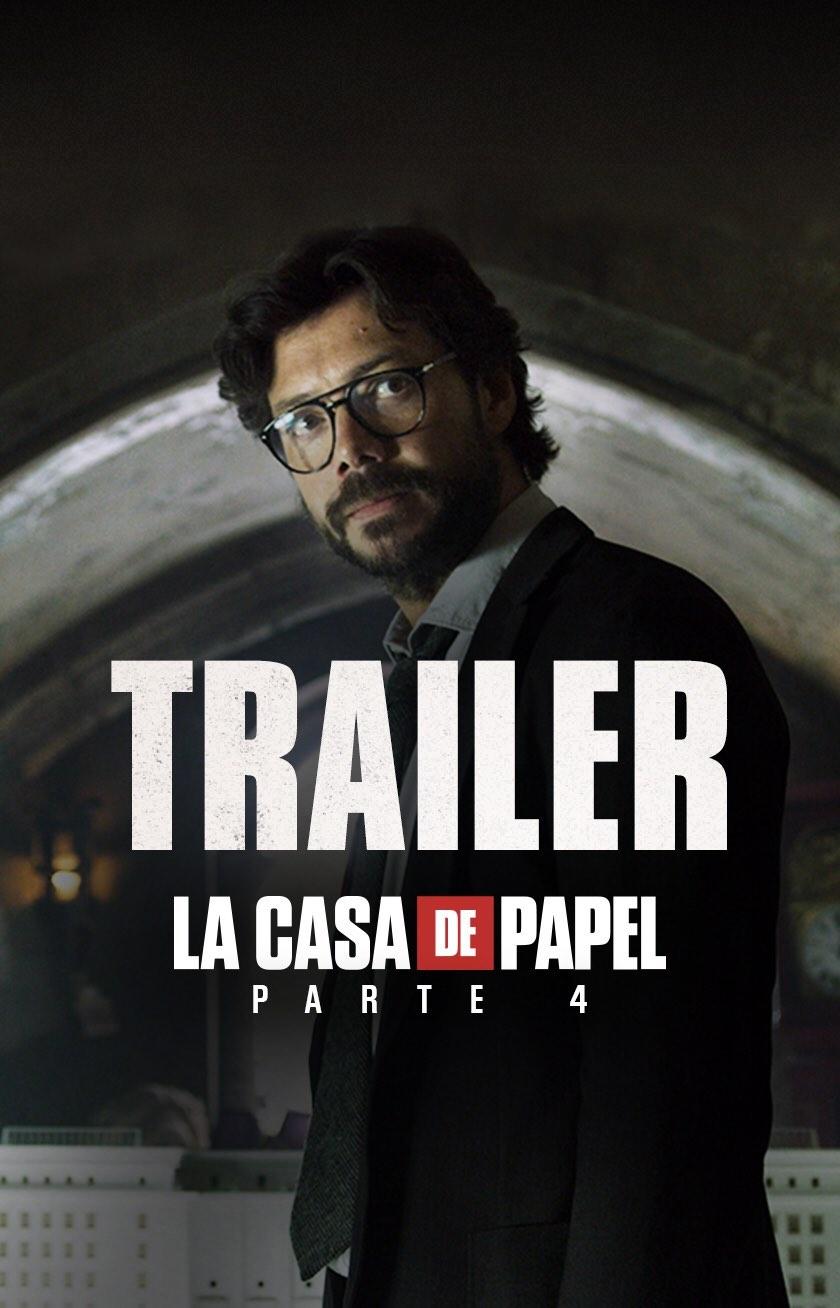 Photo of Netflix lanza el trailer de «La Casa de Papel: Parte 4»