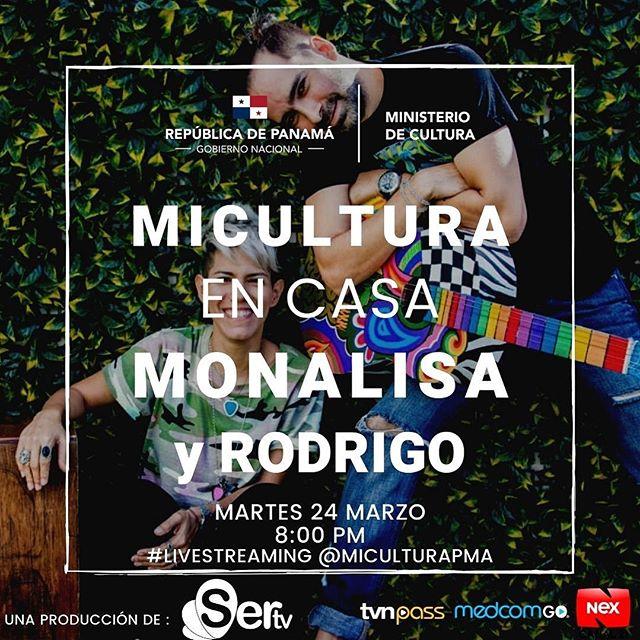Photo of 'Monalisa & Rodrigo' artistas invitados de este 24 de marzo en «Mi cultura en Casa»