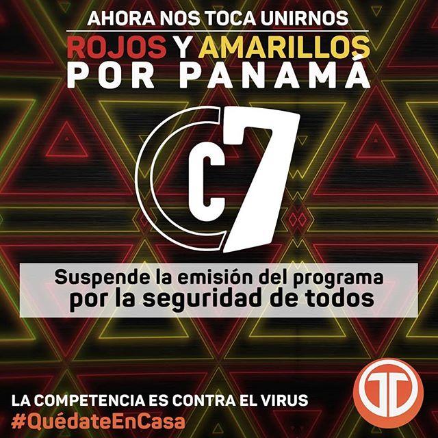 Photo of Se suspende la emisión del programa Calle 7 Panamá