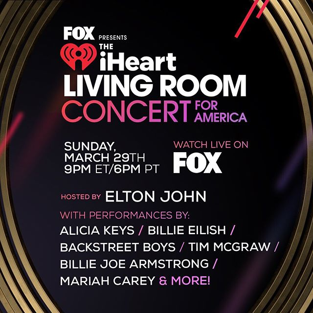 "Photo of iHeartRadio presenta ""Living Room Concert for America"""
