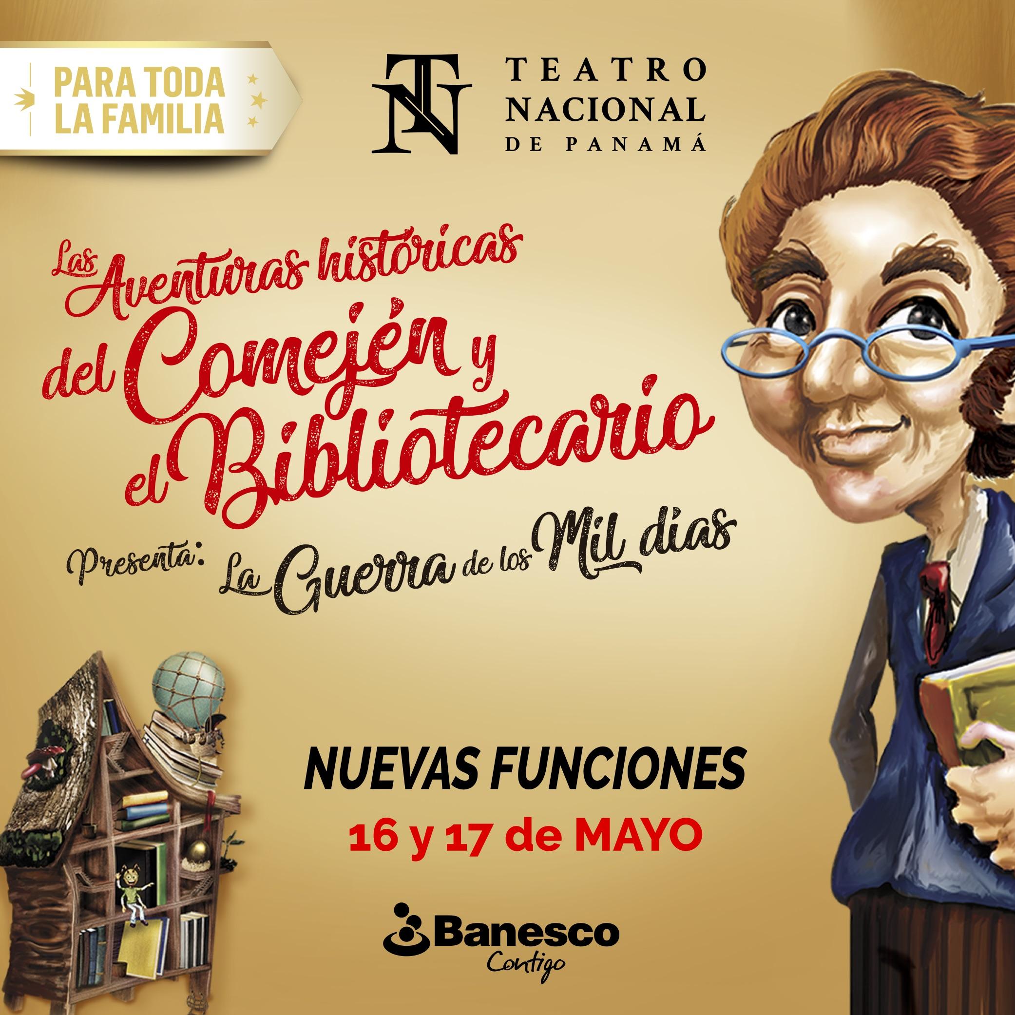 Photo of Nuevas funciones de 'Las Aventuras Históricas Del Comején Y El Bibliotecario'