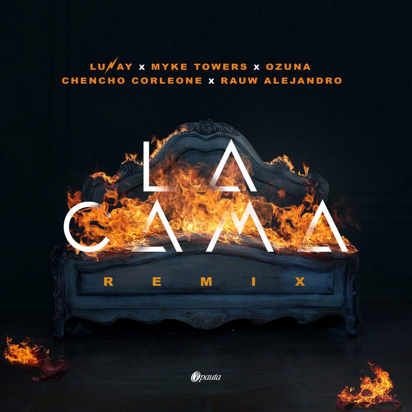 Photo of La versión remix 'La Cama Remix' de Lunay junto a Myke Towers reúne a Ozuna, Chencho Corleone y Rauw Alejandro