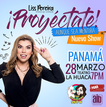Photo of Liss Pereira presenta el Stand Up Comedy «Proyéctate»