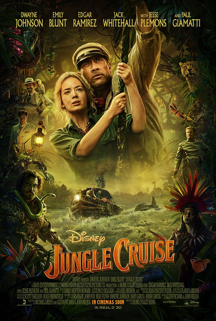 Photo of Disney estrena nuevo trailer de «Jungle Cruise»