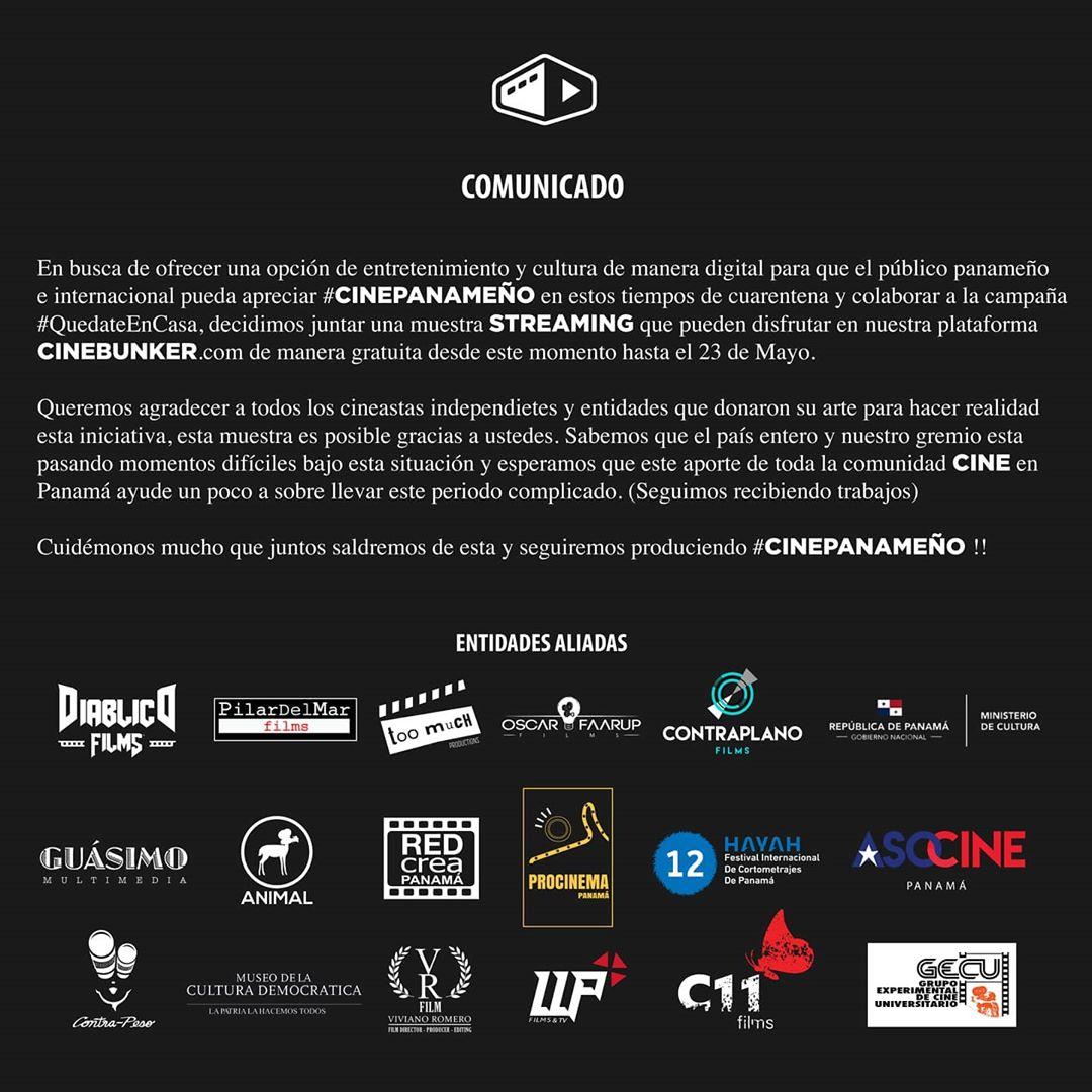 Photo of Disfruta del cine panameño de manera gratuita en CineBunker.com