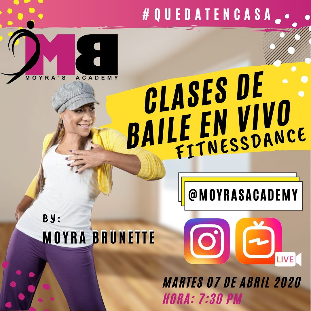 Photo of La academia de baile «Moyra's Academy» presenta 'Clases de Bailes en Vivo'