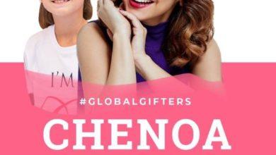 Photo of Entrevista a Chenoa por parte de los niños de Global Gift Foundation