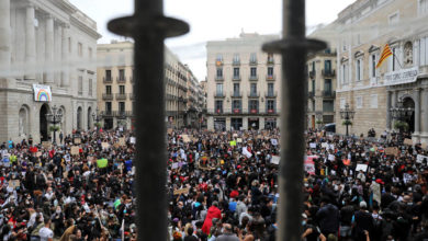 Photo of España se solidariza con EEUU y sale a la calle para clamar contra el racismo